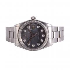 Rolex Oyster Perpetual Date Mother of Pearl Dial Wrist Watch - 2139494