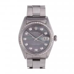 Rolex Oyster Perpetual Date Mother of Pearl Dial Wrist Watch - 2139851