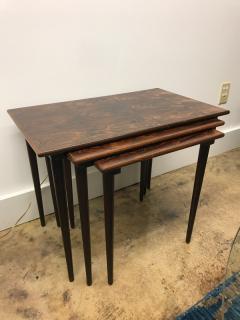 Rolf Hesland Rolf Hesland rosewood nesting tables - 1004615