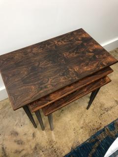 Rolf Hesland Rolf Hesland rosewood nesting tables - 1004616