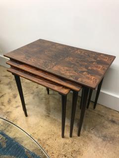 Rolf Hesland Rolf Hesland rosewood nesting tables - 1004617