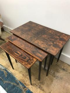 Rolf Hesland Rolf Hesland rosewood nesting tables - 1004618