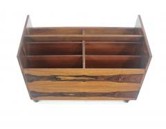Rolf Hesland Scandinavian Modern Rosewood Magazine or Vinyl Record Caddy by Rolf Hesland - 1154464
