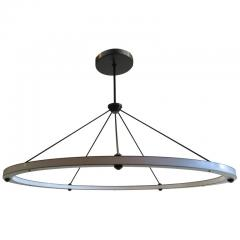 Roll Hill Halo Circle Pendant - 664721