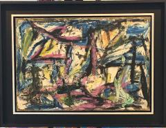 Rolph Scarlett Untitled Abstraction - 728489