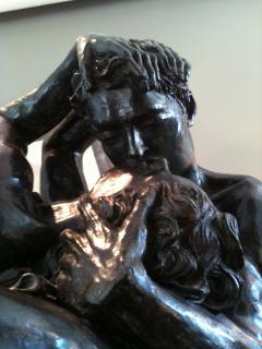 Romeo Juliet Very Impressive Bronze Sculpture - 782580
