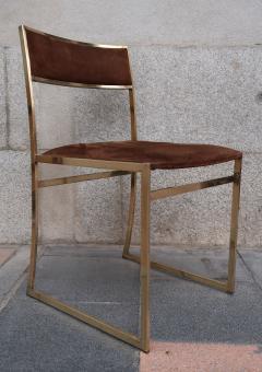Romeo Rega A set of six chairs by Romeo Rega Italy 70 - 984058