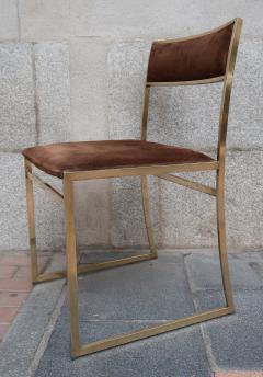 Romeo Rega A set of six chairs by Romeo Rega Italy 70 - 984059