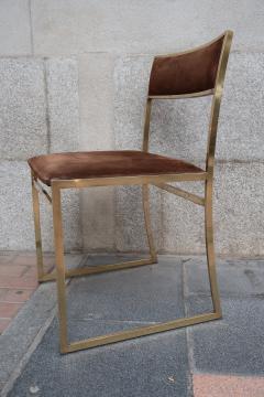 Romeo Rega A set of six chairs by Romeo Rega Italy 70 - 984060