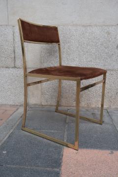 Romeo Rega A set of six chairs by Romeo Rega Italy 70 - 984062