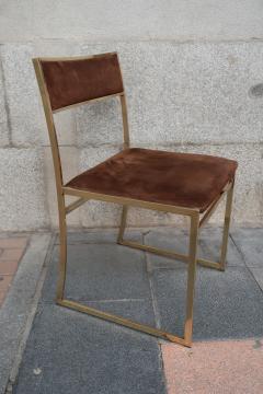 Romeo Rega A set of six chairs by Romeo Rega Italy 70 - 984063