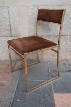 Romeo Rega A set of six chairs by Romeo Rega Italy 70 - 984064