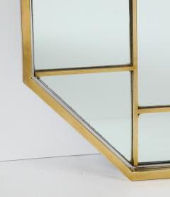 Romeo Rega Brass Octagonal Mirror - 1013831