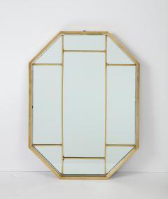 Romeo Rega Brass Octagonal Mirror - 1013833