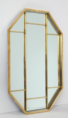 Romeo Rega Brass Octagonal Mirror - 1013835