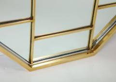 Romeo Rega Brass Octagonal Mirror - 1013837