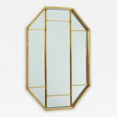 Romeo Rega Brass Octagonal Mirror - 1014487