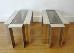 Romeo Rega Pair of End Tables by Romeo Rega 1970s - 297475