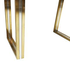Romeo Rega Romeo Rega Console Table in Brass and Chrome Italy 1970 - 833848