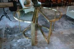 Romeo Rega Versatile Brass Oval or Round Dining Table by Romeo Rega 1970 - 1706479