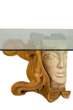 Romeo Tamanti Italian Sculpture Romeo Tamanti Primavera Table Signed - 1857377