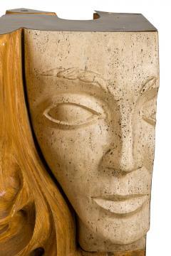 Romeo Tamanti Italian Sculpture Romeo Tamanti Primavera Table Signed - 1857381