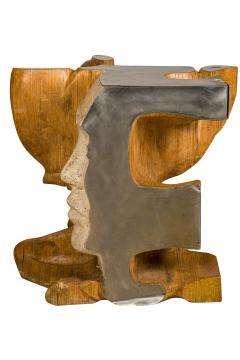 Romeo Tamanti Italian Sculpture Romeo Tamanti Primavera Table Signed - 1857384