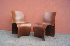 Ron Arad Pair of Three Skin Chairs by Ron Arad for Moroso - 1222851