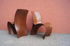 Ron Arad Pair of Three Skin Chairs by Ron Arad for Moroso - 1222852
