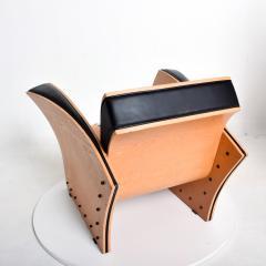Ron Arad Ron Arad Fauteuil Rubber Crust Beech Black Arm Chair Contemporary Modern 1980s - 1996016