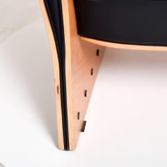 Ron Arad Ron Arad Fauteuil Rubber Crust Beech Black Arm Chair Contemporary Modern 1980s - 1996021