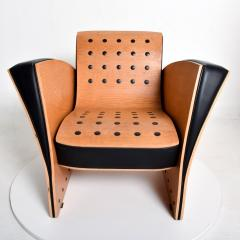 Ron Arad Ron Arad Fauteuil Rubber Crust Beech Black Arm Chair Contemporary Modern 1980s - 1996023