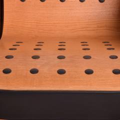 Ron Arad Ron Arad Fauteuil Rubber Crust Beech Black Arm Chair Contemporary Modern 1980s - 1996024
