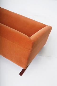 Ron Arad Tilt Sofa in Orange Mohair Circa 1980 - 1607351