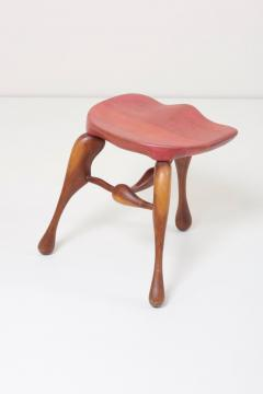Stupendous Ron Curtis Studio Craft Wooden Stool By Ron Curtis Us 1950S Beatyapartments Chair Design Images Beatyapartmentscom