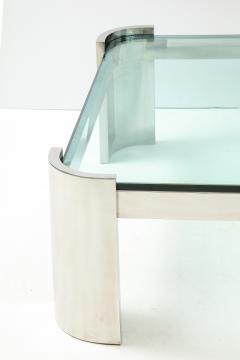 Ron Seff Large Polished Chrome Coffee Table by Ron Seff  - 2128036