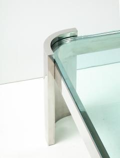 Ron Seff Large Polished Chrome Coffee Table by Ron Seff  - 2128038