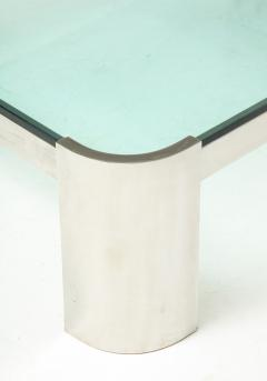 Ron Seff Large Polished Chrome Coffee Table by Ron Seff  - 2128039