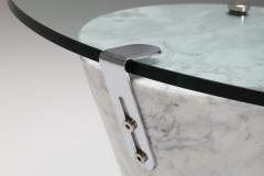 Ronald Schmitt Postmodern Marble Coffee Table by Ronald Schmitt 1980s - 1311650