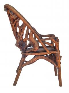 Root Wood Arm Chair - 1882784
