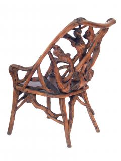 Root Wood Arm Chair - 1882785