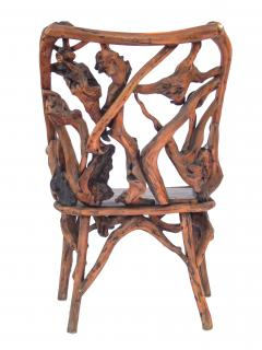 Root Wood Arm Chair - 1882788