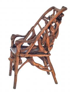 Root Wood Arm Chair - 1882789