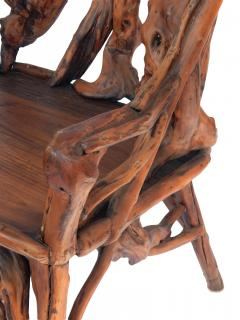 Root Wood Arm Chair - 1882793