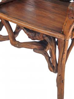 Root Wood Arm Chair - 1882794