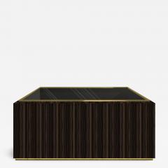 Roric Tobin Designs Coffee Table with Glass Top - 781078