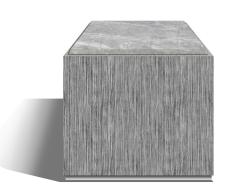 Roric Tobin Designs Side Table with Marble Top - 780472