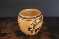 Rosetta Huma Native American Hopi Polychromed Earthenware Pot by Rosetta Huma circa 1960s - 563133