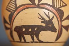 Rosetta Huma Native American Hopi Polychromed Earthenware Pot by Rosetta Huma circa 1960s - 563139