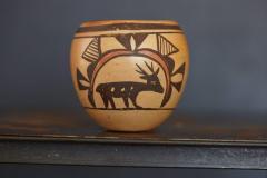 Rosetta Huma Native American Hopi Polychromed Earthenware Pot by Rosetta Huma circa 1960s - 563140
